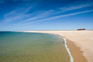 Ilha Deserta Barreta Faro