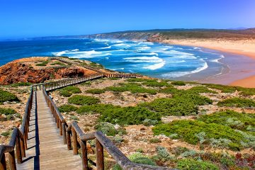Rocha Da Pena Trail Loulé Central Algarve - Portugal hiking map