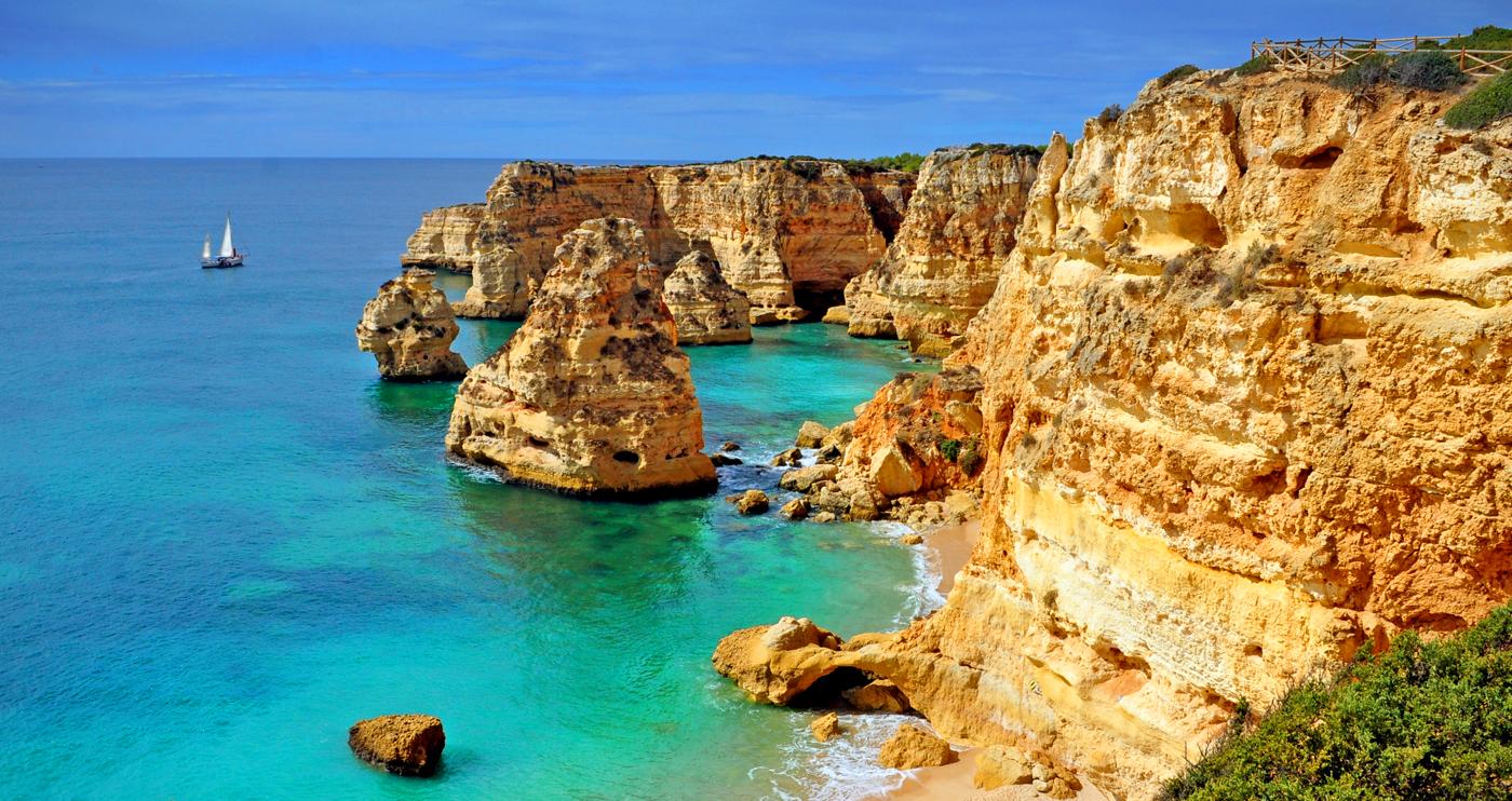 Algarve Hiking Trails Algarve Walking Routes Hiking In Portugal - Portugal map alvor