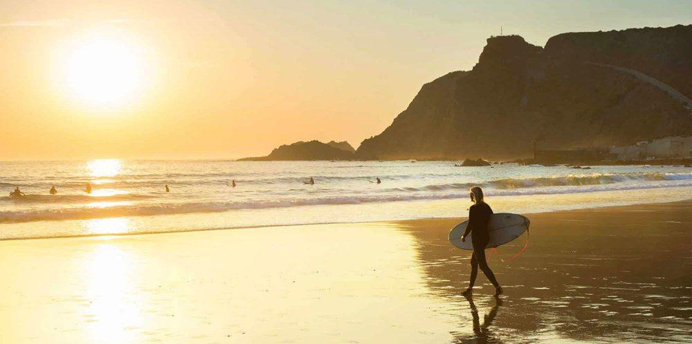 Algarve Where to Surf - Arrifana Beach